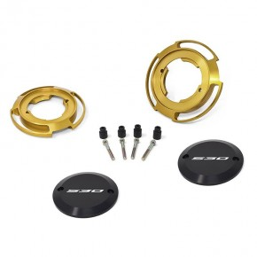 Protezioni carter colore oro per Yamaha T-Max 530 (coppia)