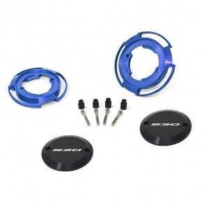 Protezioni carter colore blu per Yamaha T-Max 530 (coppia)
