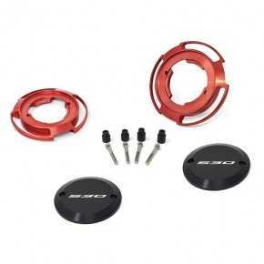 Protezioni carter colore rosso per Yamaha T-Max 530