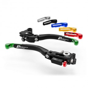 Brake/Clutch levers Ultimate double adjustment for Kawasaki (L12)