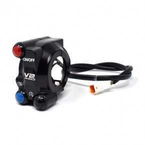 Comando gas con pulsantiera integrata per Ducati Panigale V2