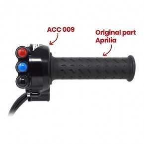Comando gas con pulsantiera integrata per Aprilia RSV4