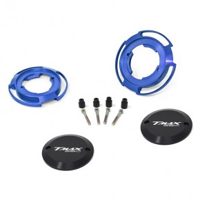 Crankcase protection blue color for Yamaha T-Max 560 (couple)