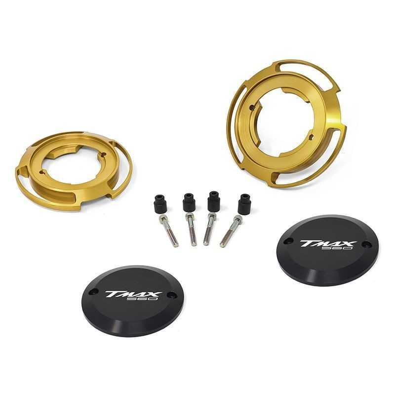 Protezioni carter colore oro per Yamaha T-Max 560 (coppia)