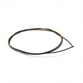 Cavo unipolare 0,35 mm temperatura 105°C colore nero-marrone lunghezza 1000mm