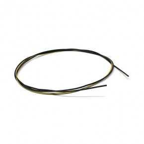 Cavo unipolare 0,35 mm temperatura 105°C colore nero-giallo lunghezza 1000mm