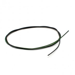 Unipolar cable 0.35 mm temperature 105 ° C black-green length 1000mm