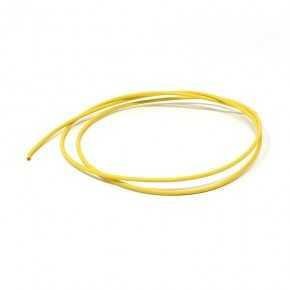 Cavo unipolare 1 mm temperatura 105°C colore giallo lunghezza 1000mm