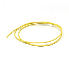 Unipolar cable 1 mm temperature 105 ° C yellow length 1000mm