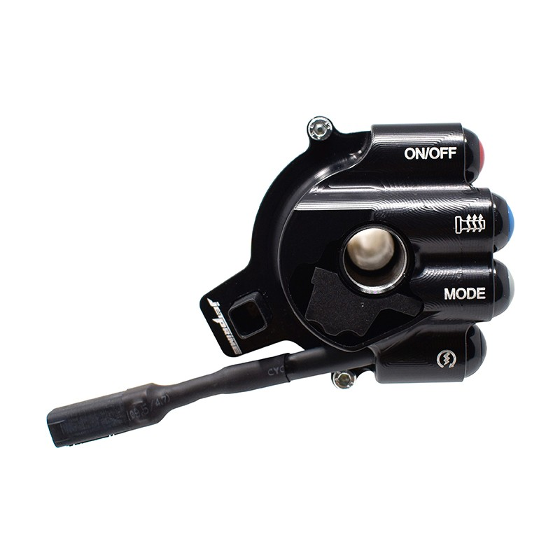copy of Throttle twist grip with integrated controls for BMW RS