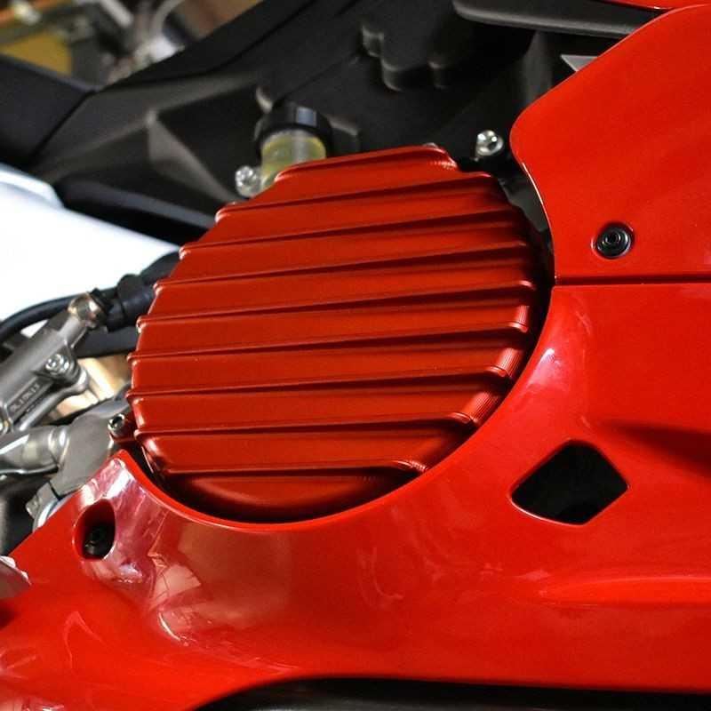 Carter frizione per Ducati Panigale V2 (Rosso)