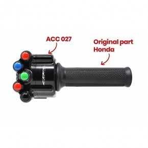 Comando gas con pulsantiera integrata per Honda CBR 1000 RR-R