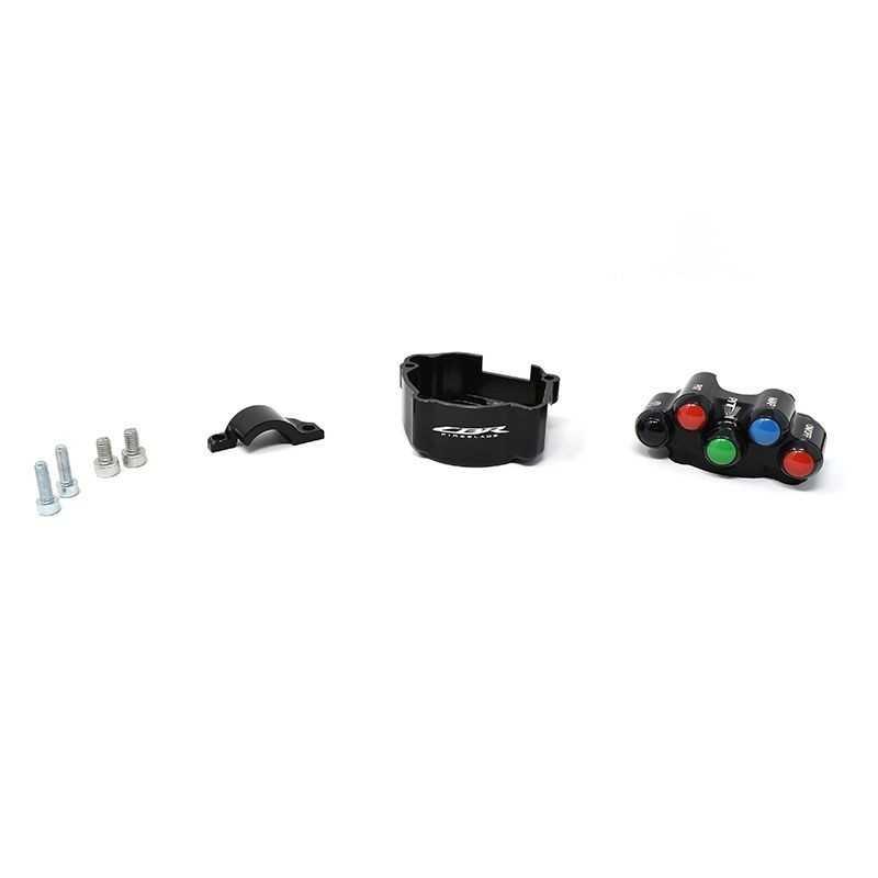 Throttle twist + Racing left handlebar switch kit for Honda CBR 1000 RR-R