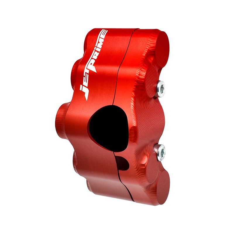 Street version left handlebar switch for Yamaha T-MAX 500 (Red)