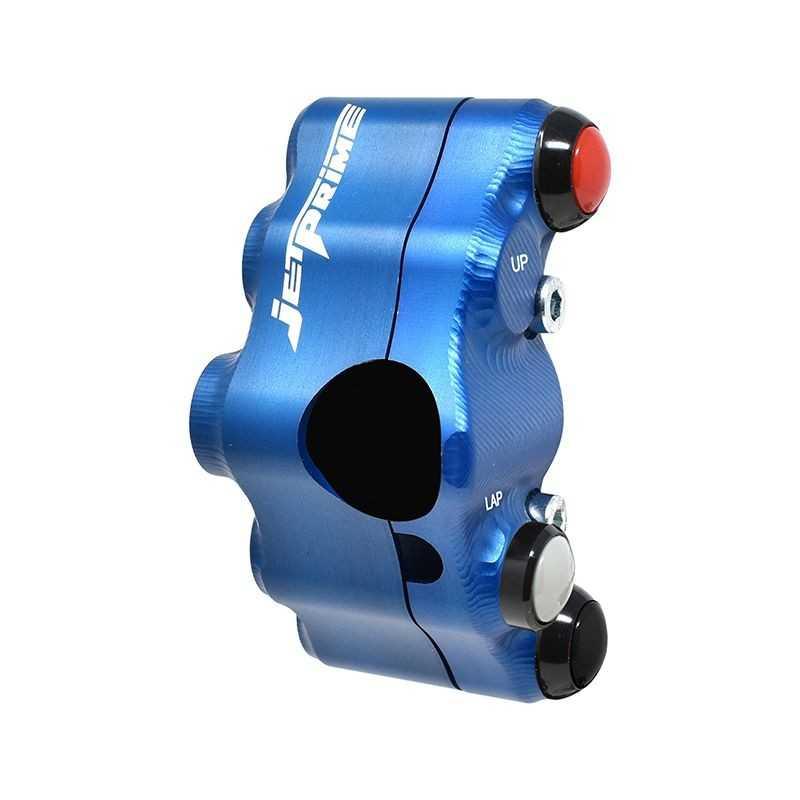 Street version left handlebar switch for Honda CBR 1000 RR (Blue)