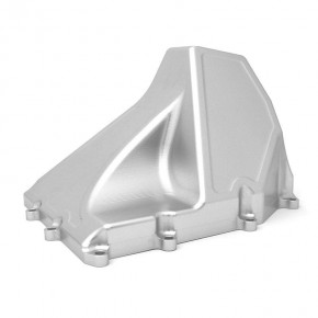Enlarged aluminium oil pan for Ducati