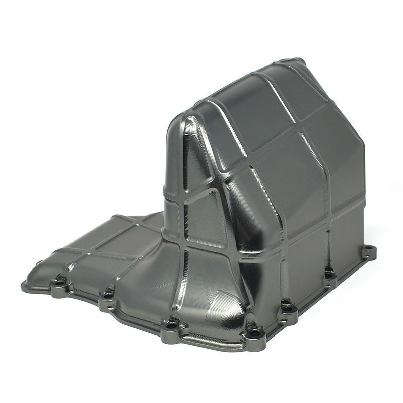 Enlarged aluminium oil pan for BMW