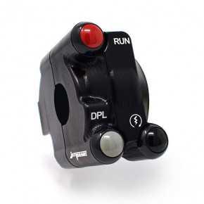 Comando gas con pulsantiera integrata per Ducati Panigale V4/S